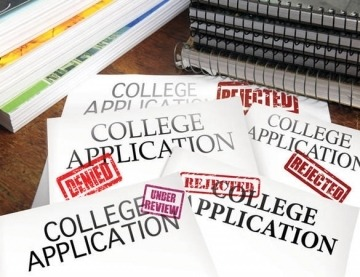 Waitlist, Rejected, Accepted College Admissions