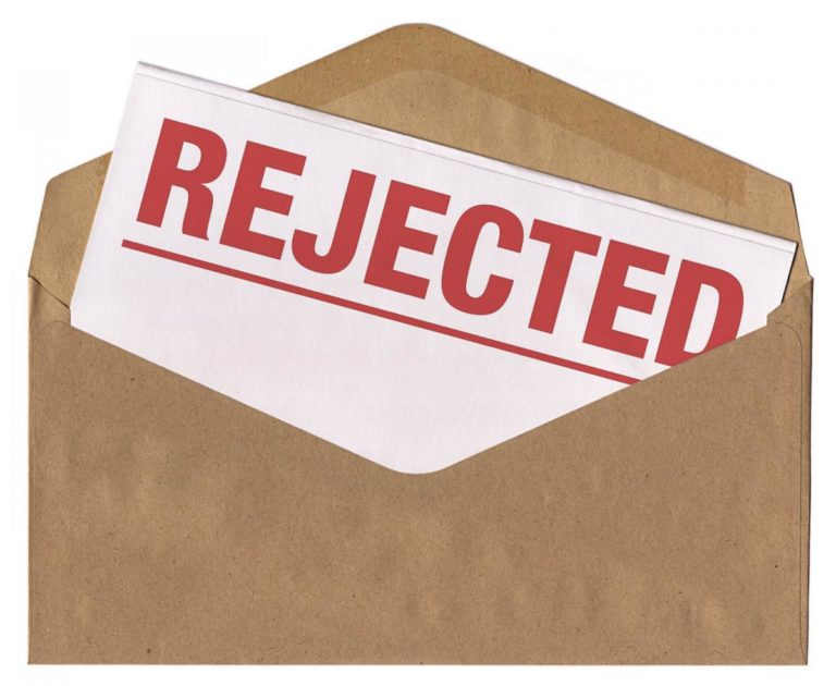 College Admission rejections
