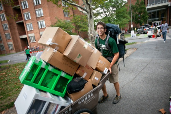 Moving out of college
