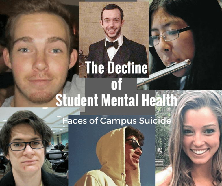 The Faces of Campus Suicide