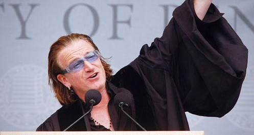 Bono graduation speech University of Pennsylvania