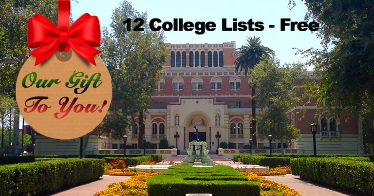 Researching Colleges? Download Our College Lists