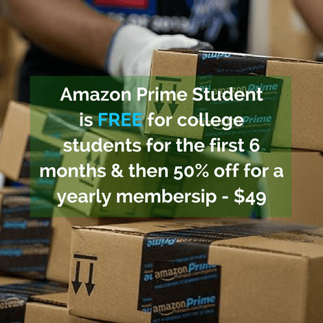 A Clever Way Parents Can Save Money With Amazon Prime Student Membership