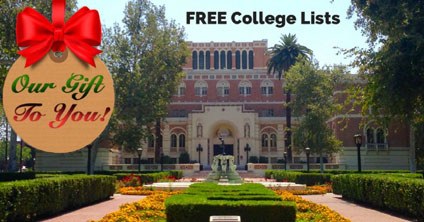 Our Gift To You – FREE College Lists