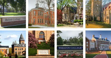 Colleges Meeting 90% and More of Financial Need