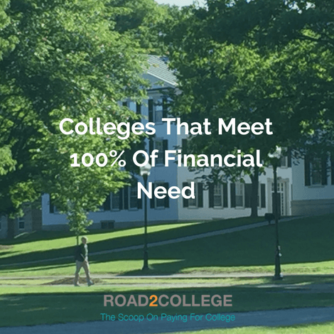 Colleges That Meet 100% of Financial Need