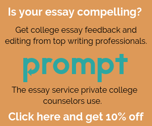 Prompt College Essay Review