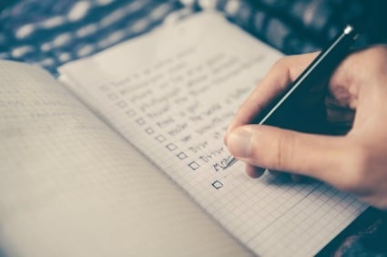 The College Search Process: Make a Checklist!
