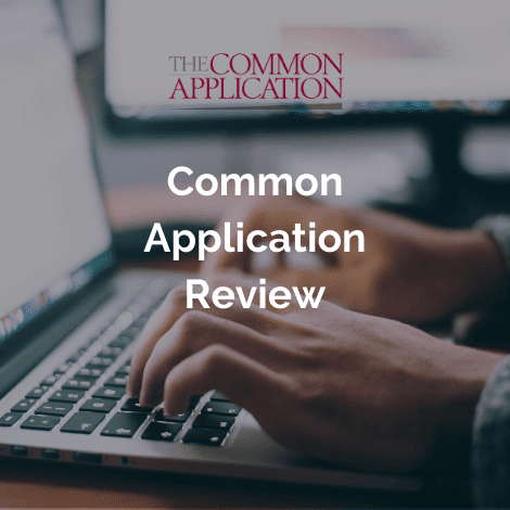 Common Application Review